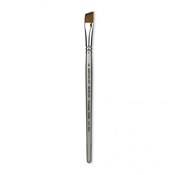 Professional Schminkpinsel flach/schräg Größe 16