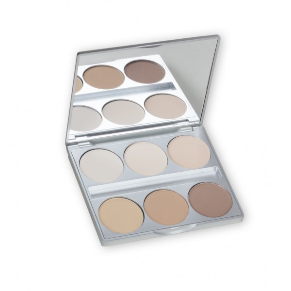 Blot Powder Palette 6 Farben 20g
