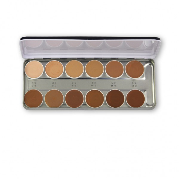 Supracolor Palette 12 Farben, Inhalt 40 ml