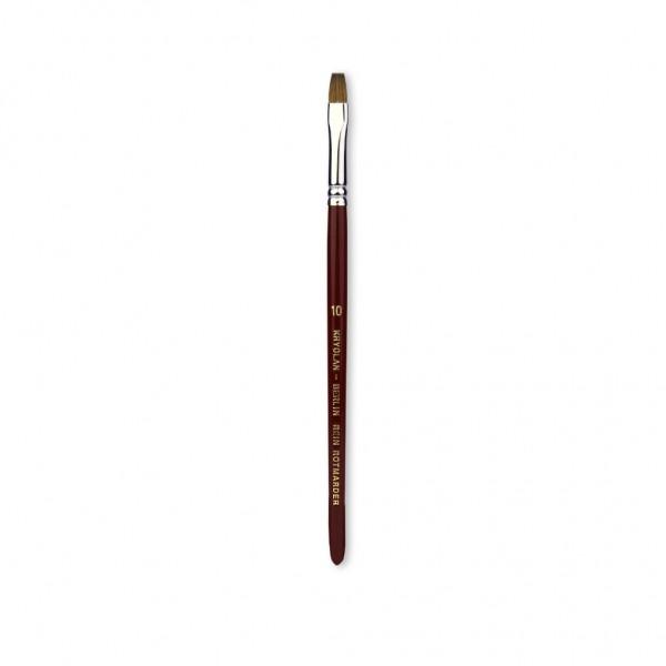Excellence Schminkpinsel 6,5 mm breit Größe 10