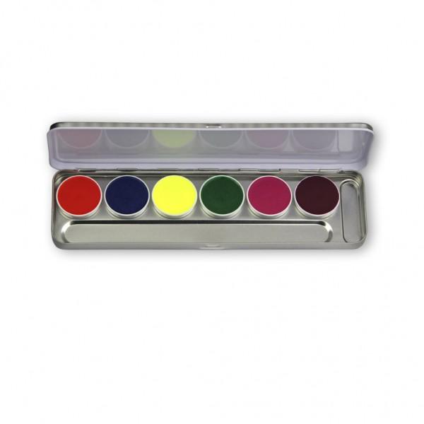 Supracolor Tagesleucht-Effektfarbe, Palette 6 Farben