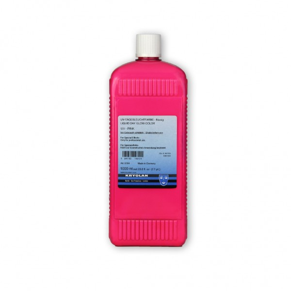 UV-Dayglow Effektfarbe, flüssig (Dispersion) 1000 ml