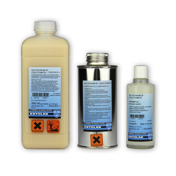 Kaltschaum SF, 2-Komponenten + Trennmittel 0,5 Liter-Set