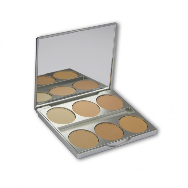 Dual Finish 6er Palette