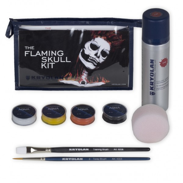 Flaming Skull Kit