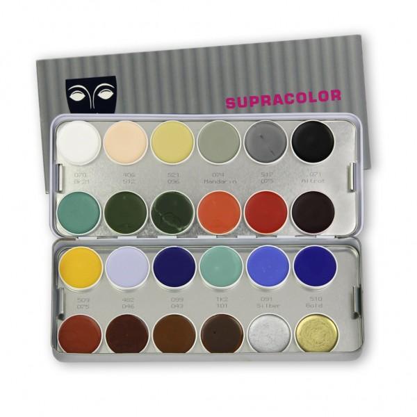 Supracolor Palette 24 Farben, Inhalt 80 ml