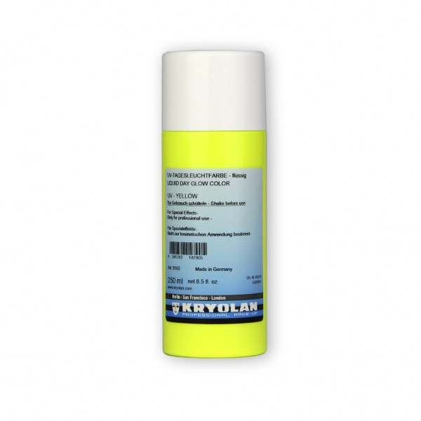 UV-Dayglow Effektfarbe flüssig (Dispersion) 250 ml