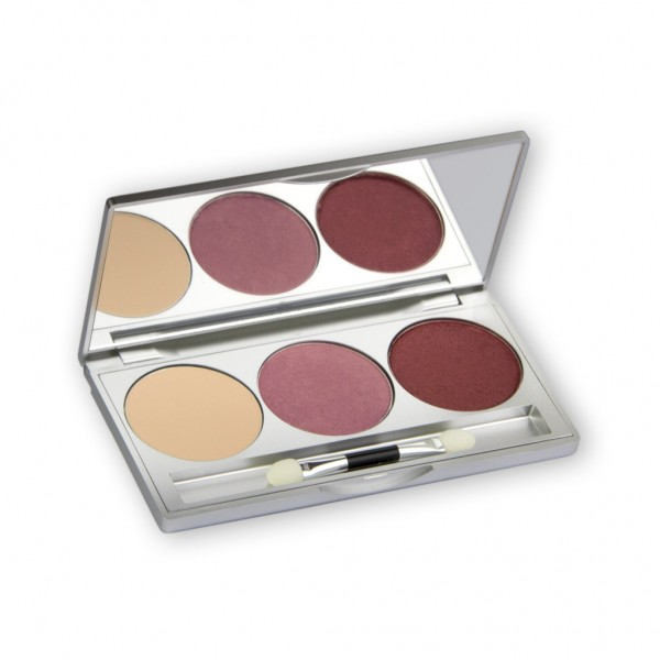 Eye Shadow Trio Set, Smokey Collection - Smokey Rust 7,5g