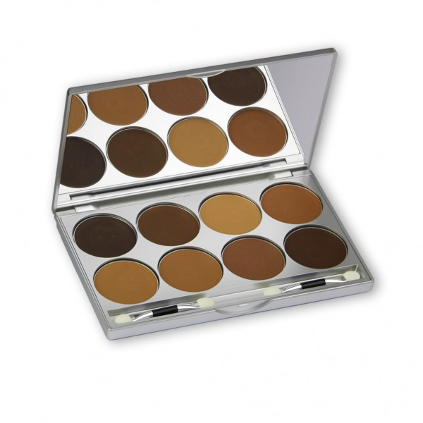 Ultra Foundation Palette 8 Farben 28g