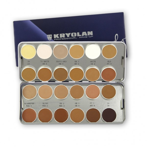 Ultra Foundation Palette 24 Farben Nr. 1 90g