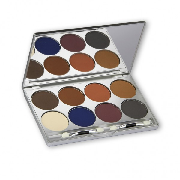 Eye Shadow Set 8 Farben, Inhalt 24g