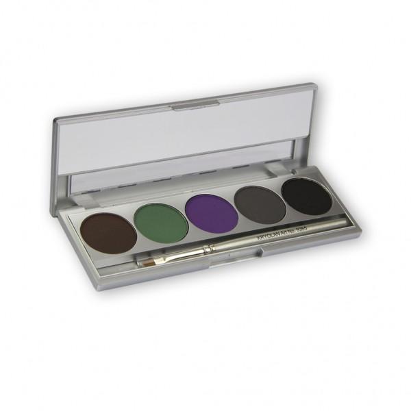 Cake Eye-Liner Set, 5 Farben, Standard 2, Inhalt 7,5g