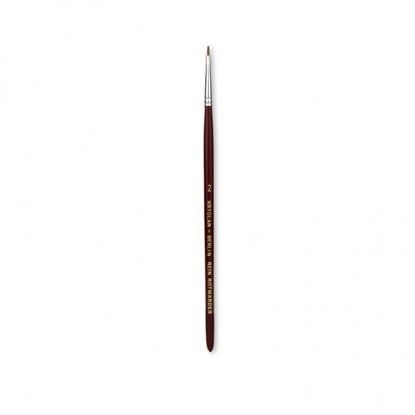 Excellence Schminkpinsel 1 mm breit Größe 2