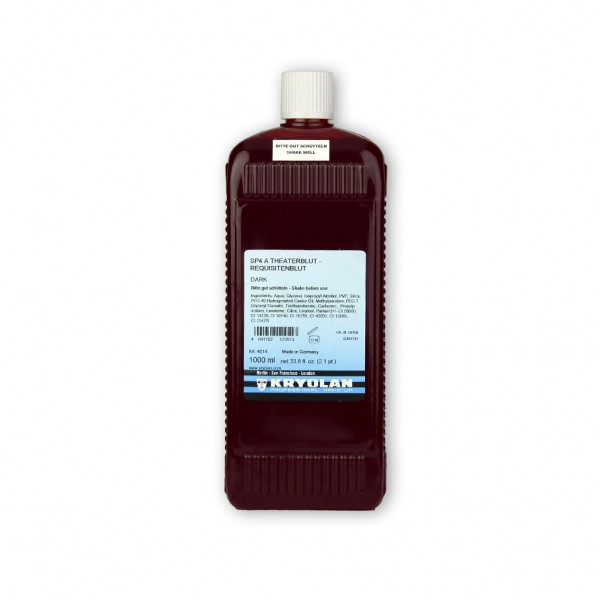Theaterblut SP4 A, Requisitenblut 1000 ml