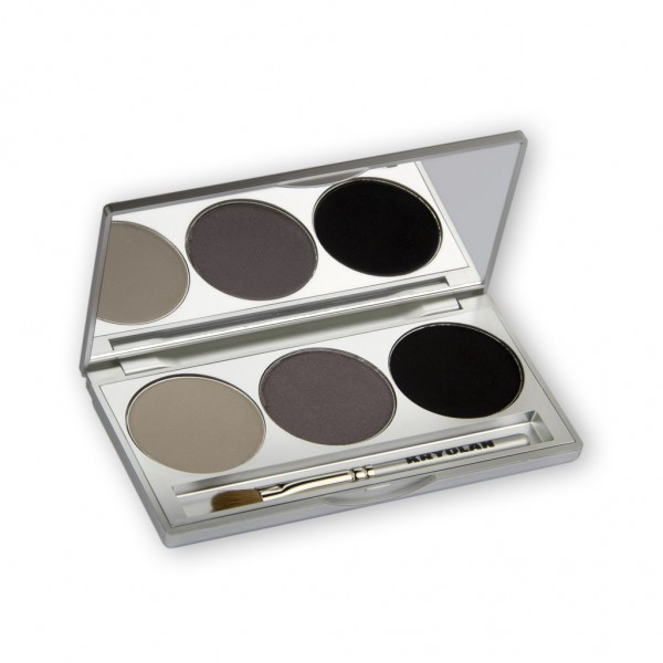 Eye Shadow Trio Set, Smokey Collection - Smokey Grey 7,5g