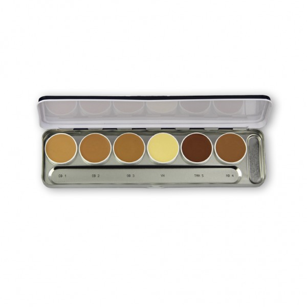 Ultra Foundation Palette 6 Farben 20g