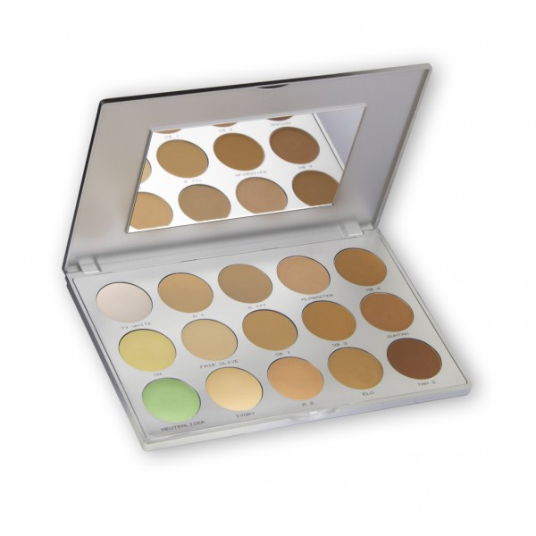 Ultra Foundation Palette 15 Farben