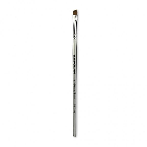 Professional Schminkpinsel flach/schräg Größe 8