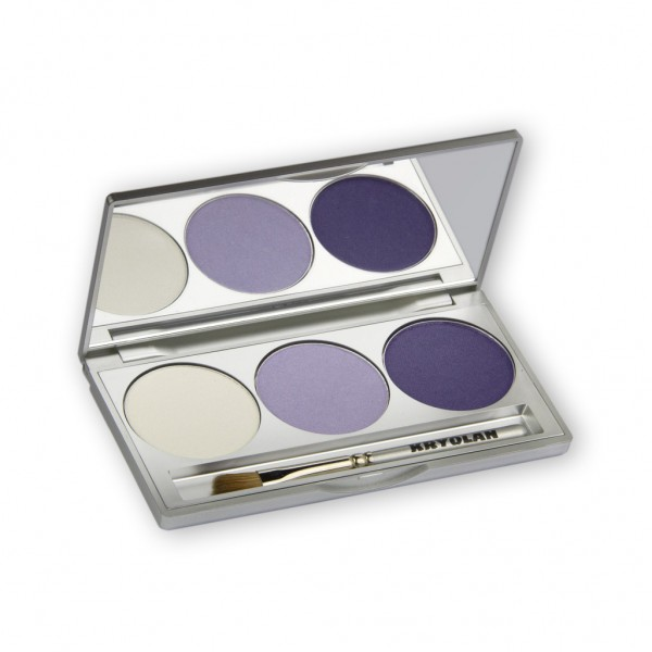 Eye Shadow Trio Set, Smokey Collection - Smokey Purple 7,5g