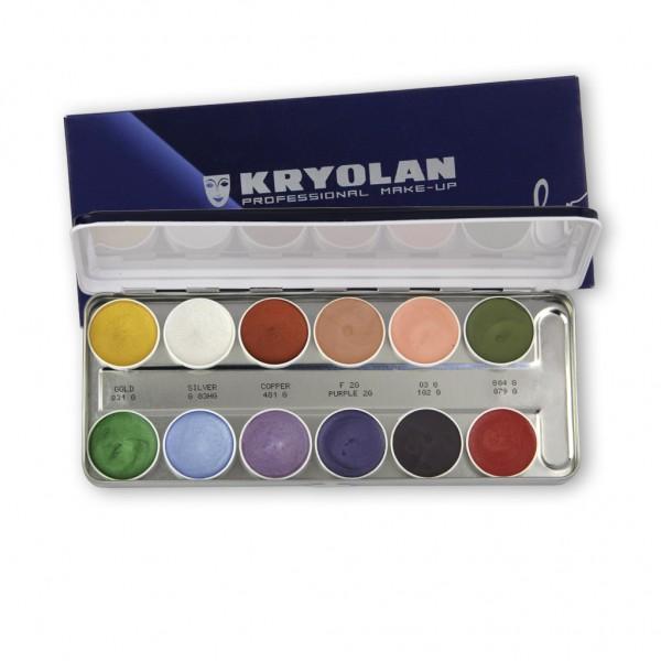 Supracolor Inteferenz Palette, 12 Farben 40ml