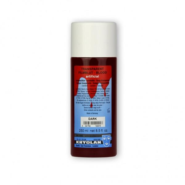 Transparentblut, pigmentfrei, 250 ml