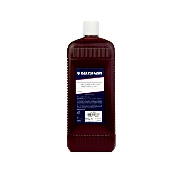 Transparentblut, pigmentfrei, 1000 ml