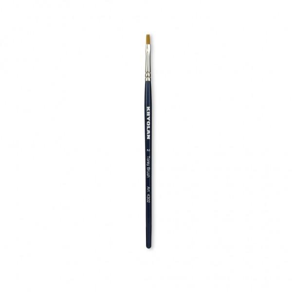Torey Schminkpinsel 3 mm breit Größe 2
