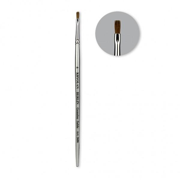 Professional Schminkpinsel breit Größe 6