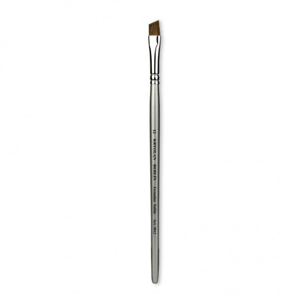 Professional Schminkpinsel flach/schräg Größe 12