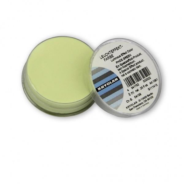 Leuchtschminke, phosphoreszierend, nachleuchtend 8 ml