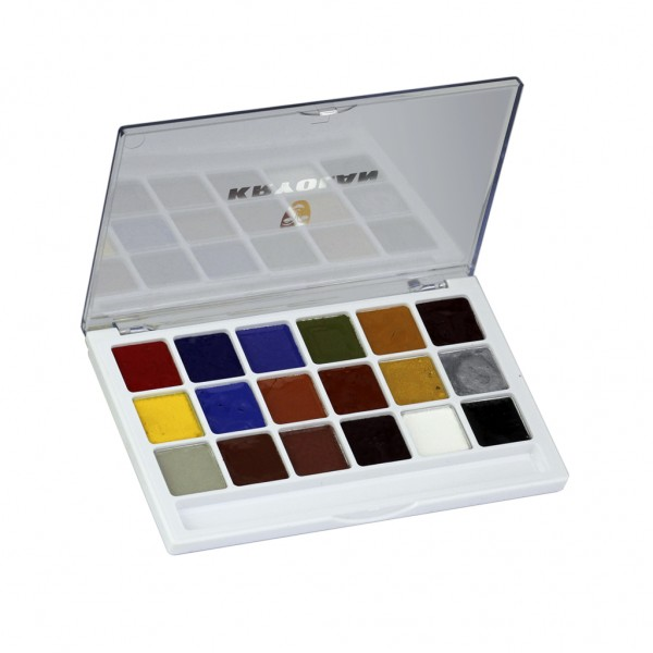 Body Illustration Make-up Color Palette 18 Farben 16g