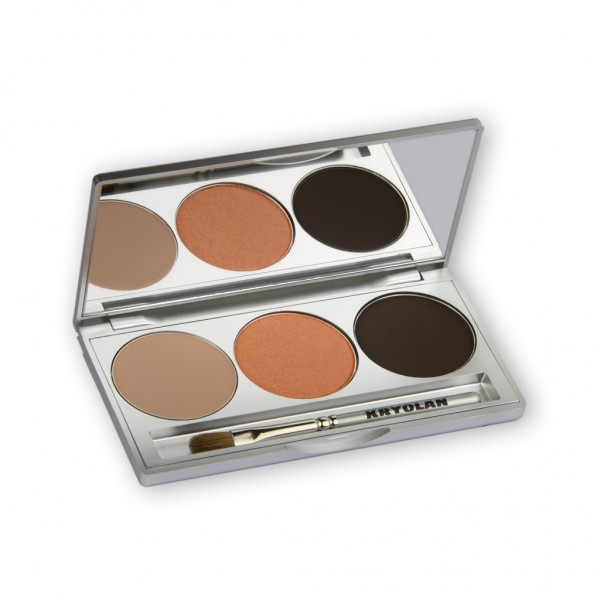 Eye Shadow Trio Set, Smokey Collection - Smokey Terracotta 7,5g
