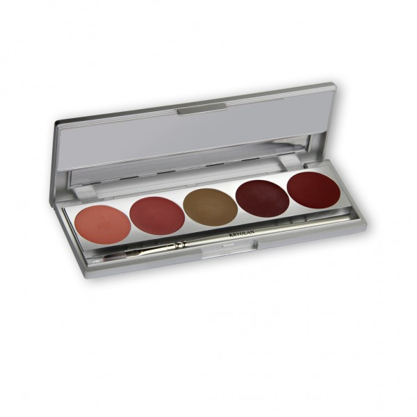Cream Blusher Palette, 5 Farben - Delight
