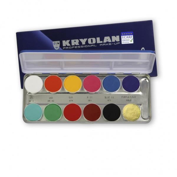 Aquacolor Palette 12 Farben