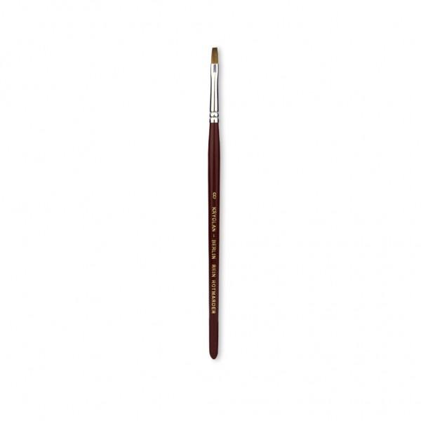 Excellence Schminkpinsel 4 mm breit Größe 8