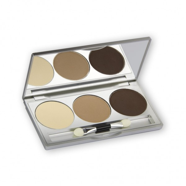 Eye Shadow Trio Set, Smokey Collection - Smokey Nude 7,5g