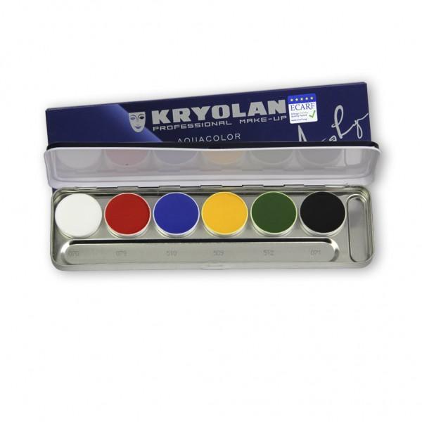 Aquacolor Palette 6 Farben, Inhalt 20 ml