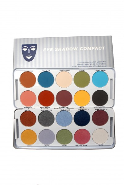 Eye Shadow Palette 20 Farben, Inhalt 60g, CG