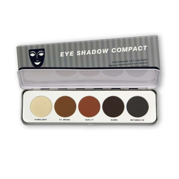Eye Shadow Palette 5 Farben, Shading