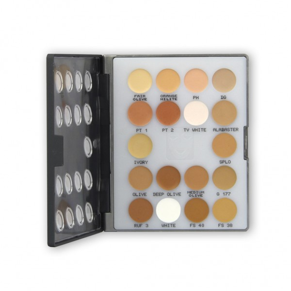 Ultra Foundation Mini-Palette 18 Farben 11g - Nr.2