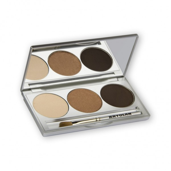 Eye Shadow Trio Set, Smokey Collection - Smokey Beige 7,5g