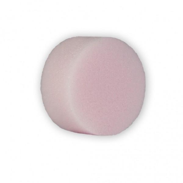 Schminkschwamm rosa, rund Einzelverpackung
